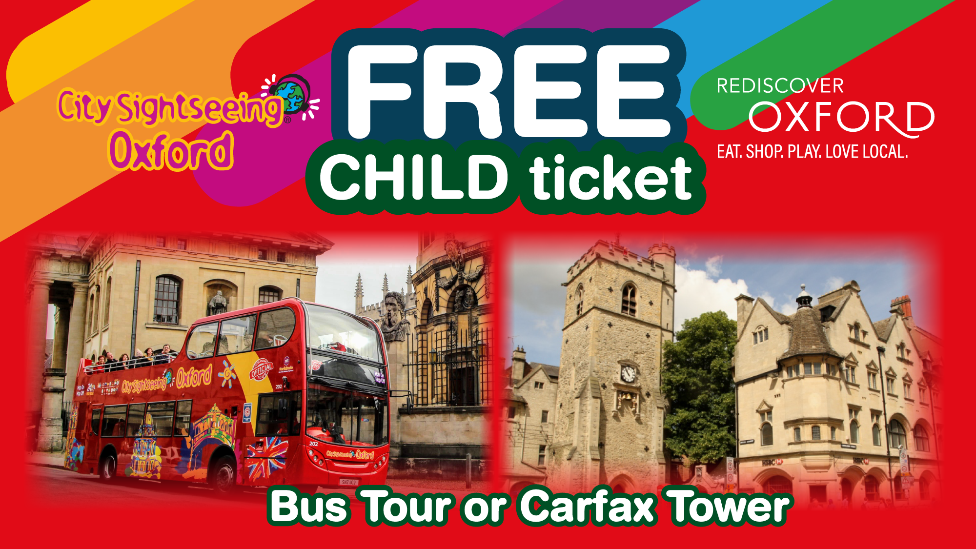 Rediscover Oxford - Free Child Ticket
