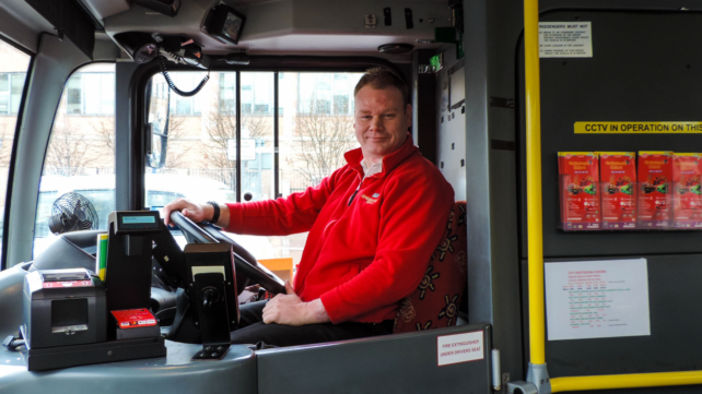 City Sightseeing bus driver