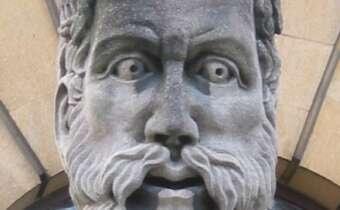 One of Oxford's famous gargoyles