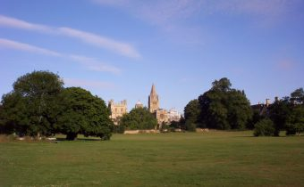 Christ Church Meadow in Oxford