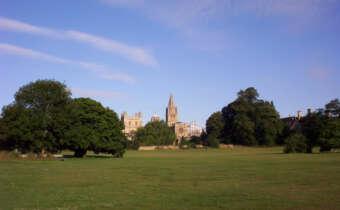 Christ Church Meadow in Oxford