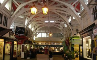 Oxford's famous Covered Market