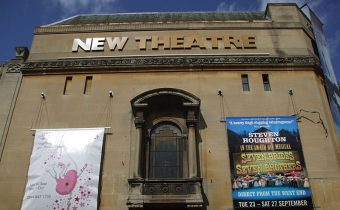 Oxford's New Theatre, viewed from the street