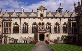 Oriel College in Oxford
