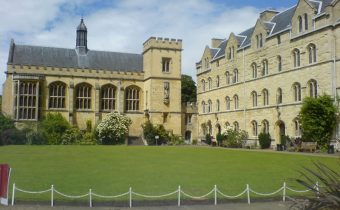 "Chapel Quad of Pembroke College, Oxford - picture credit: ""Djr xi"" (https://commons.wikimedia.org/wiki/User:Djr_xi)"