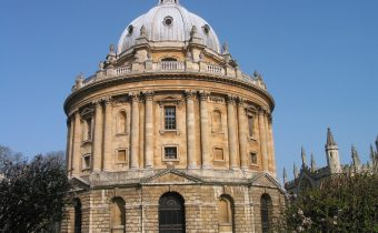 The famous Radcliffe Camera building in Oxford
